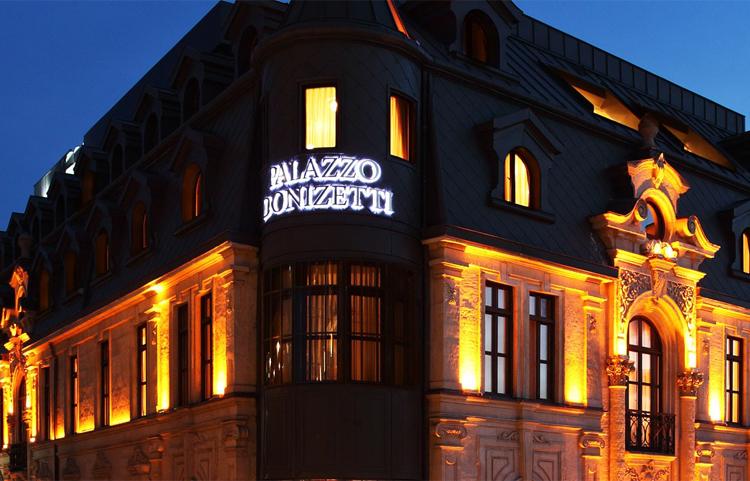 Palazzo don zetti hotel taksim for Galata 1875 suites