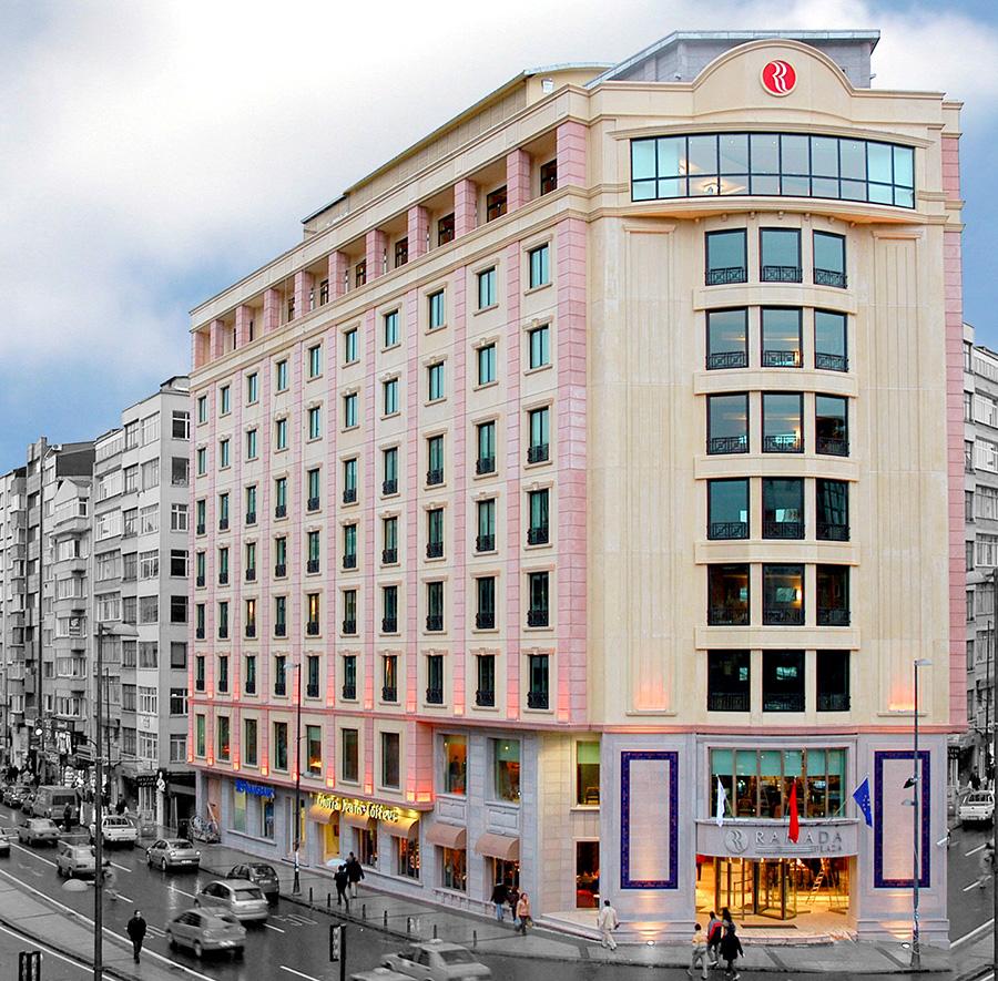 Ramada hotel taksim for Al majed hotel istanbul